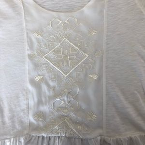 American Rag Tops - American Rag Embroidered Top Small